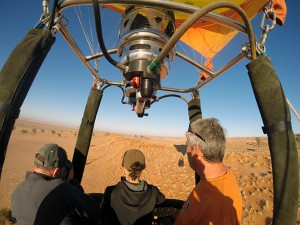 Hot Air Ballooning Safari